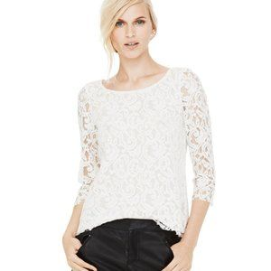 Club Monaco Dean Top (Nude NOT White) L